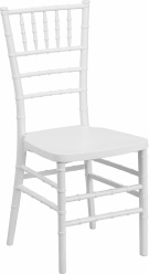 Ballroom White Chiavari Chair